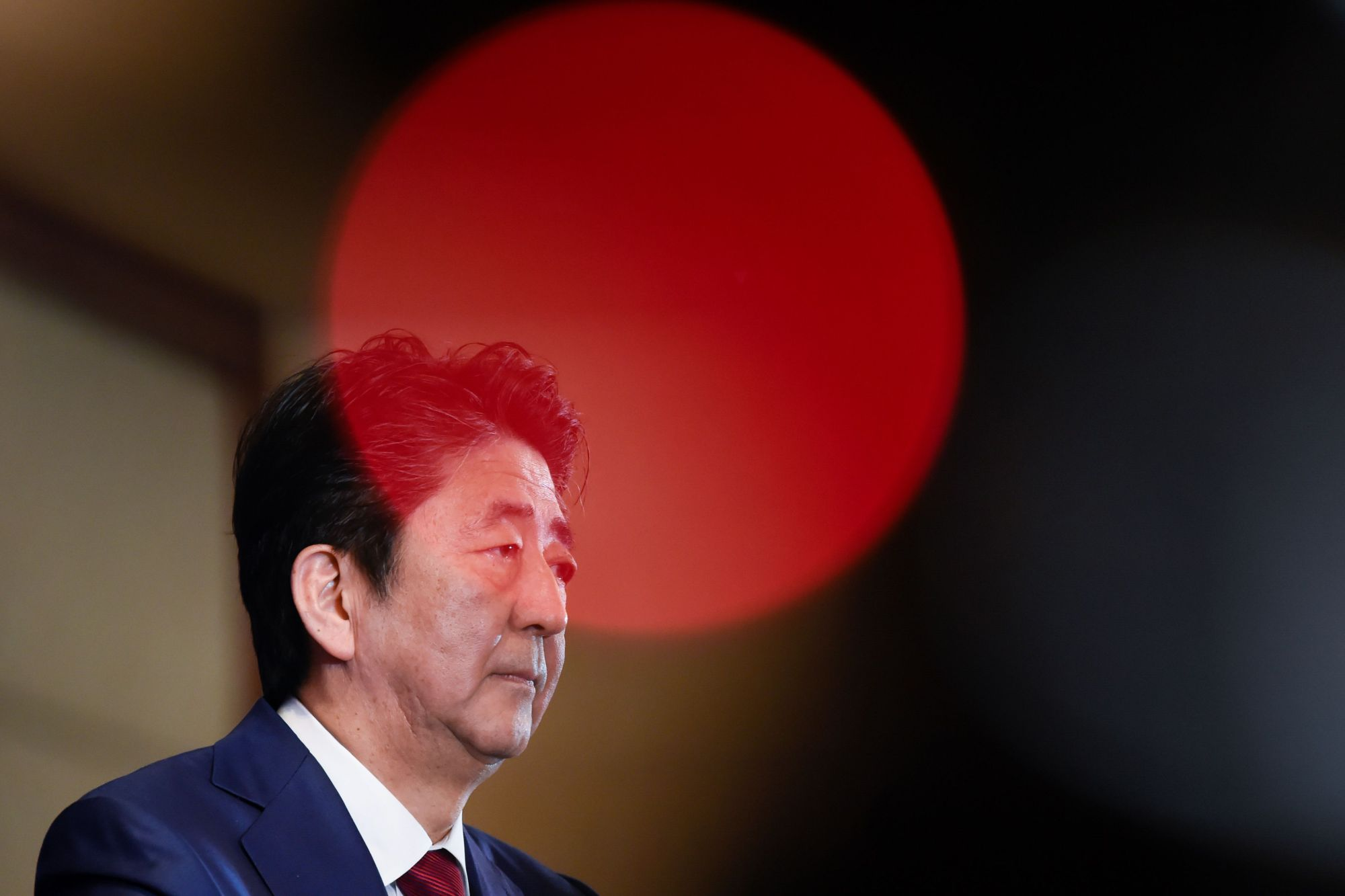 Prime Minister Shinzo Abe's term as LDP leader is scheduled to expire in September 2021, giving him just under two years to cement his legacy and make his mark on Japanese political history. | POOL / VIA AFP-JIJI