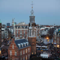 The population inflow to Amsterdam from abroad has spiked back up recently — albeit from very different places, with U.K. citizens now the biggest group of foreign people in the city and Italians leading the list of new arrivals in 2018. | BLOOMBERG
