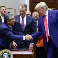 Japan-U.S. pact takes effect to promote goods, digital trade