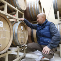 Takahiko Soga of Domaine Takahiko winery in Yoichi, Hokkaido, says his wines are becoming so popular that he has recently been forced to decline shipments to some liquor stores. | KYODO