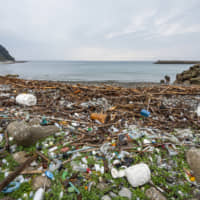 So much garbage drifts ashore that it buries the coastline. In addition to the high cost of collecting the trash, there are concerns about damage to ecosystems and the rest of the coastal environment, as well as the impact on the fishing industry.
