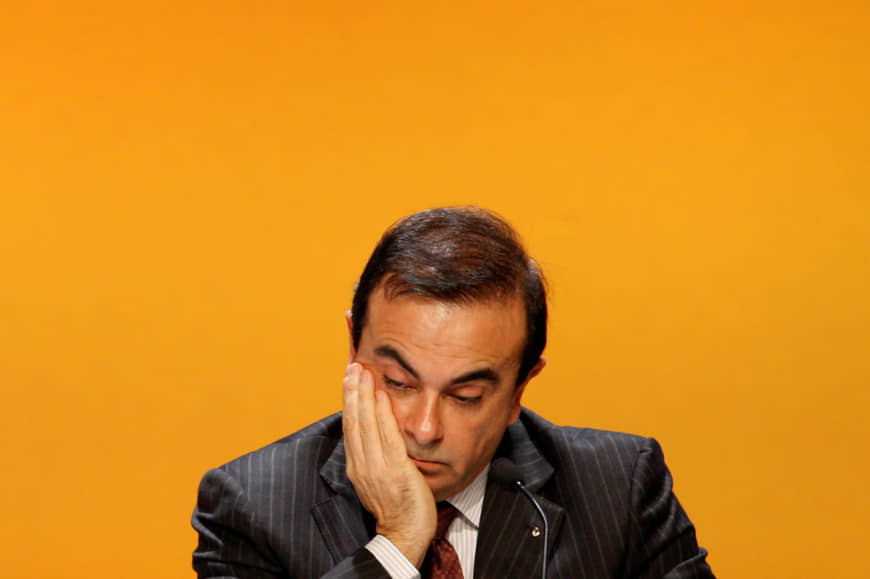 Ghosn but not forgotten: Carlos Ghosn attends a shareholders meeting in 2008, which was likelier a happier time than the one the now former Nissan boss is going through currently. | REUTERS