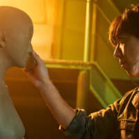 """Secret earnings: Issey Takahashi's character, Tetsuo, initially keeps his job of crafting sex dolls from his partner in """"Romance Doll."""""""