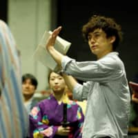 Hands On: Shuntaro Fujita debuted as a director in 2011 with a one-act comedy play before moving over into musicals.