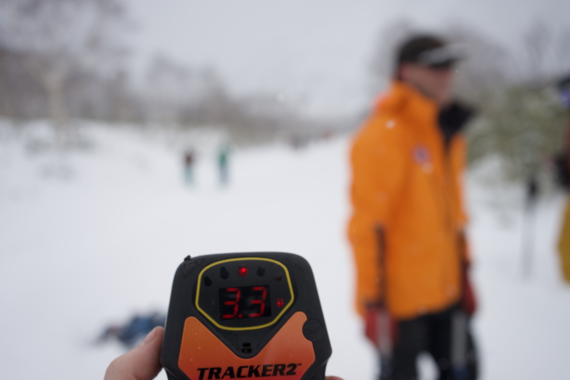 Set to search: A transceiver is a vital tool in performing avalanche rescue. | OSCAR BOYD