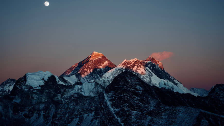 Christmas on Everest: Nothing stirs, not even a mouse