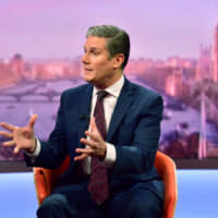Labour's shadow Brexit secretary, Keir Starmer, is known more as a pragmatist than an ideologue, but he has still taken pains to show his left-wing bona fides in the race to succeed outgoing party leader Jeremy Corbin. | VIA REUTERS