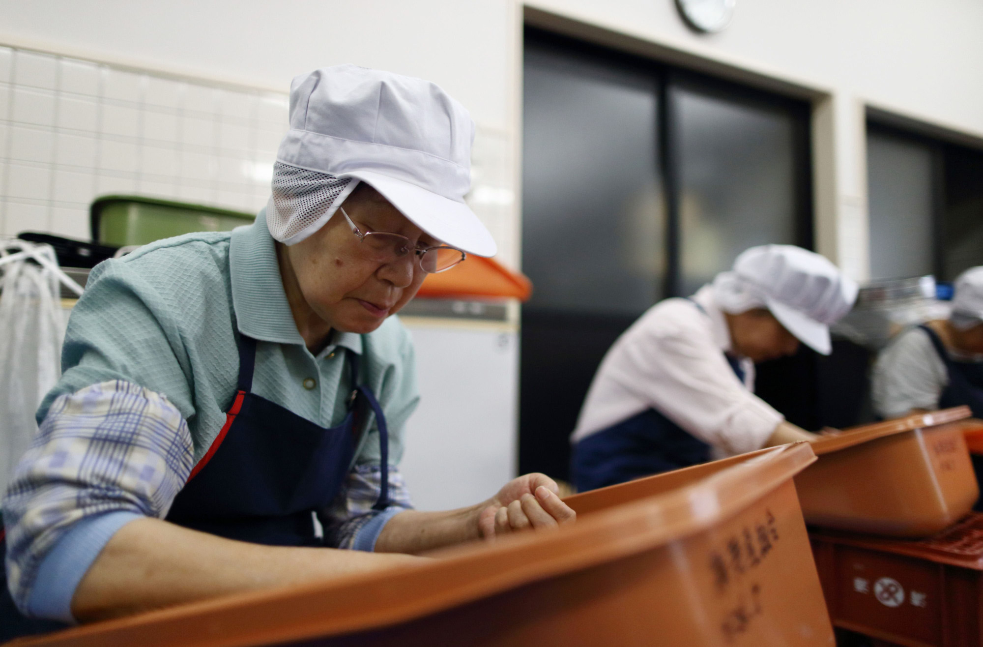 Elderly workers aren't less productive than younger ones. | BLOOMBERG