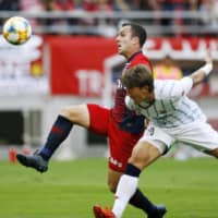 Attacker Serginho to leave Antlers for Chinese club