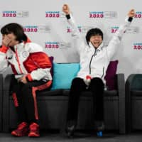Yuma Kagiyama's rocket to stardom continues at Youth Olympics