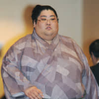 Former maegashira Yamamotoyama was forced to retire after the match-fixing scandal in April 2011. | KYODO