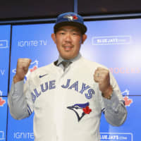 Blue Jays newcomer Shun Yamaguchi excited about change of scenery, opportunity to pitch in majors