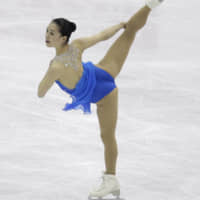 Breaking through: Akiko Suzuki achieved her preseason goal of earning a medal at the world championships when she claimed the bronze in Nice, France, in March. | AP