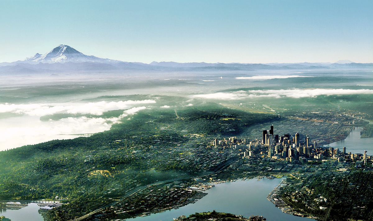 The Greater Seattle region is one of the few in the world with three deep-water ports and offers three daily nonstop flights between Seattle and Tokyo. | © GREATER SEATTLE PARTNERS