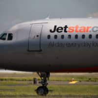 Jetstar Japan has decided to suspend operations between Narita and Shanghai in the wake of the coronavirus outbreak in China. | BLOOMBERG