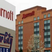 Rajeev Menon, a senior official of U.S. hotel chain Marriott International Inc., says the company has no plans at present to run a private lodging service in Japan. | AP / VIA KYODO