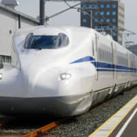 The number of passengers on the Tokaido Shinkansen line between Feb. 1 and Wednesday declined 8 percent from a year earlier amid outbreaks of COVID-19. | KYODO