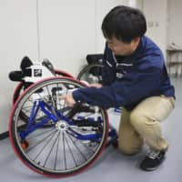 Wheelchairs developed by former Japanese Paralympian gaining attention ahead of Tokyo Games