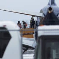 Second plane carrying Canadian evacuees from China's Wuhan arrives at Canada base
