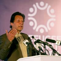 Pakistan no longer a militant safe haven and stands behind Afghan peace process, says Khan