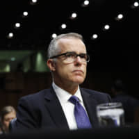 U.S. Justice Department drops probe of a top Trump target, ex-FBI official Andrew McCabe