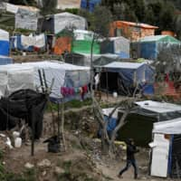 Villagers on Greece isle of Samos up in arms over new refugee camp plan