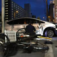 Deaths caused by Japan's elderly drivers fell in 2019 from record to 401