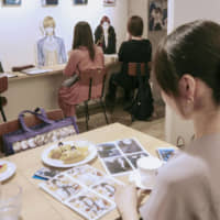 A Tokyo cafe for women into dating simulation games. | KYODO
