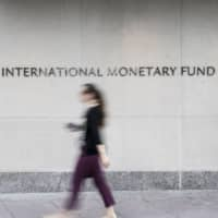 The International Monetary Fund on Monday called on Japan to further raise its consumption tax rate in stages to fund growing social security costs. | BLOOMBERG