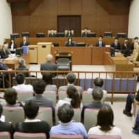 The Kumamoto District Court on Wednesday ruled that special courts for segregated leprosy patients set up outside of standard courtrooms in the past were unconstitutional. | KYODO