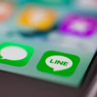 Line says more than 4,200 accounts worldwide hacked this month