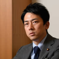With no precedents to follow, Environment Minister Shinjiro Koizumi admits he was somewhat confused about how to go about taking paternity leave. | BLOOMBERG