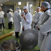 Foreign diplomats introduced to sake-making in bid to promote Japan's national beverage