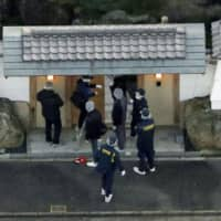 Man held for allegedly shooting at home belonging to deputy leader of Japan's largest yakuza group