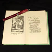 A positive note: The opening pages of 'The History of Little Goody Two-Shoes,' which was first published in 1765. | MARK SCHREIBER