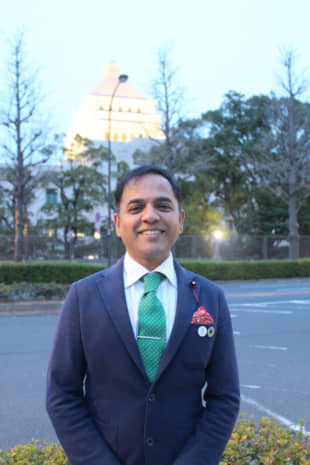 Speaking up: Assemblyman Yogendra Puranik can recall mediating between the Indian and Japanese residents of an apartment building over methods of garbage disposal. It was one of the many experiences that led him to enter politics. | MEGHA WADHWA