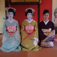 In pursuit of perfection: Set in a 200-year-old teahouse, Somaro has daily performances by maiko (geisha in training). | JESSE CHASE-LUBITZ