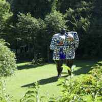Sculpted: The Hakone Open-Air Museum is home to over 100 sculptures by leading artists of the 20th-century including 'Miss Black Power' by Niki de Saint Phalle. | OSCAR BOYD