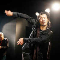 A song and dance: Taketeru Kudo often performs with Eiichi Hayashi, a saxophonist who the dancer admits to admiring. | JAMES HADFIELD