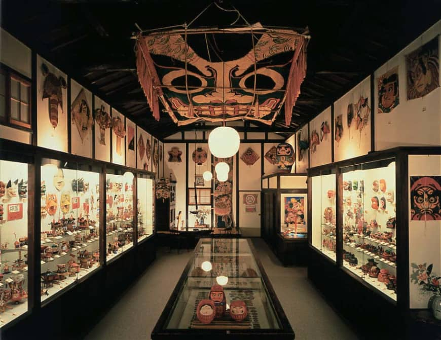 Warehouses of fun: The interior of the Japan Toy Museum