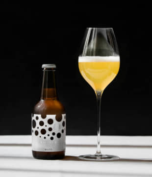 Beer with style: Rococo Tokyo White is a hefeweizen wheat beer crafted with the needs of high-end chefs and sommeliers in mind. | COURTESY OF ROCOCO TOKYO WHITE