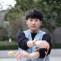 Unstoppable: Takada says he often practices yo-yo for five or six hours a day. | RYUSEI TAKAHASHI