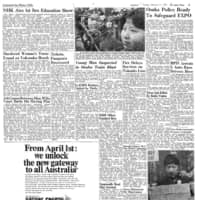 Japan Times 1970: NHK broadcasts first sex education show
