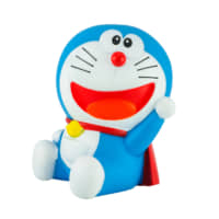 Blue robot cat: A Doraemon toy character from the 'Doraemon' television series | GETTY IMAGES