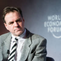 Historian Niall Ferguson says the last Cold War showed that there is always a risk that a cold war  can turn hot. | WORLD ECONOMIC FORUM / MANUEL LOPEZ