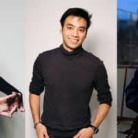 Above left to right: Anime YouTubers Sydney Poniewaz (Sydsnap), Garnt Maneetapho (Gigguk) and Connor Colquhoun (CDawgVA) have been invited to live and produce content in Japan by Kadokawa/Book Walker's GeeXPlus. | KENJI KANAI; MIKAN.MANDARIN