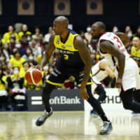 Utsunomiya Brex forward Jawad Williams brings valuable experience to the B. League club as a well-traveled overseas player, including with the NBA's Cleveland Cavaliers. He joined the club on Dec. 20. | B. LEAGUE