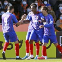 FC Tokyo fire back against S-Pulse with goals from Brazilian trio