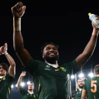 South Africa prop Tendai Mtawarira joined Old Glory DC, one of three Major League Rugby expansion teams, for the 2020 season. | AFP-JIJI