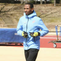 Ethiopia marathon runner Yonas Kinde aims for spot on Refugee Olympic Team